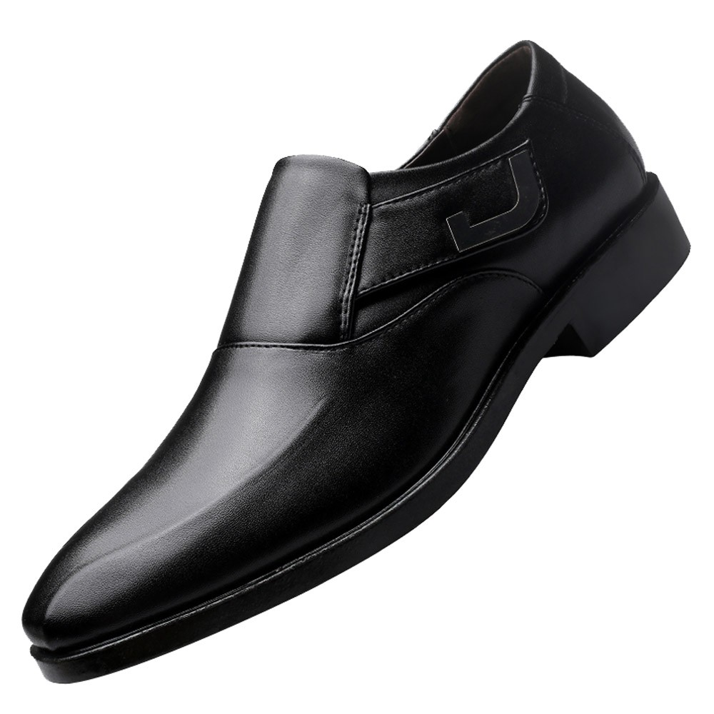 Oxfords Spring Autumn Men Formal Wedding Shoes Luxury Men Business Dress Shoes Men Loafers Pointy Shoes Big Size 38-47
