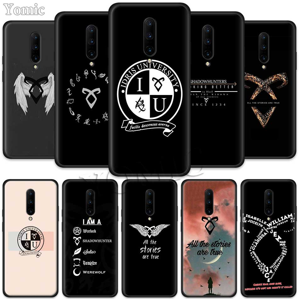 Shadowhunters Clary Fray Black Soft Case for font b Oneplus b font font b 7 b