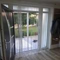 Shiny Quaste Flash Silber Linie String Vorhang Fenster Tür Divider Sheer Vorhänge Valance Startseite Hochzeit dekoration 300x280 cm-in Vorhänge aus Heim und Garten bei