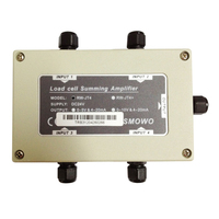 Pressure sensor RW JT4 four way PLC transmitter 0 10V weighing amplifier 0 5v output 4 20ma
