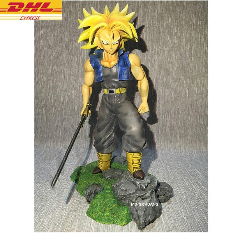 9 Dragon Ball Z Statue Torankusu Buste Troncs Plein-Longueur Portrait Goku Fils GK Action Figure Collection Modèle jouet BOÎTE D531