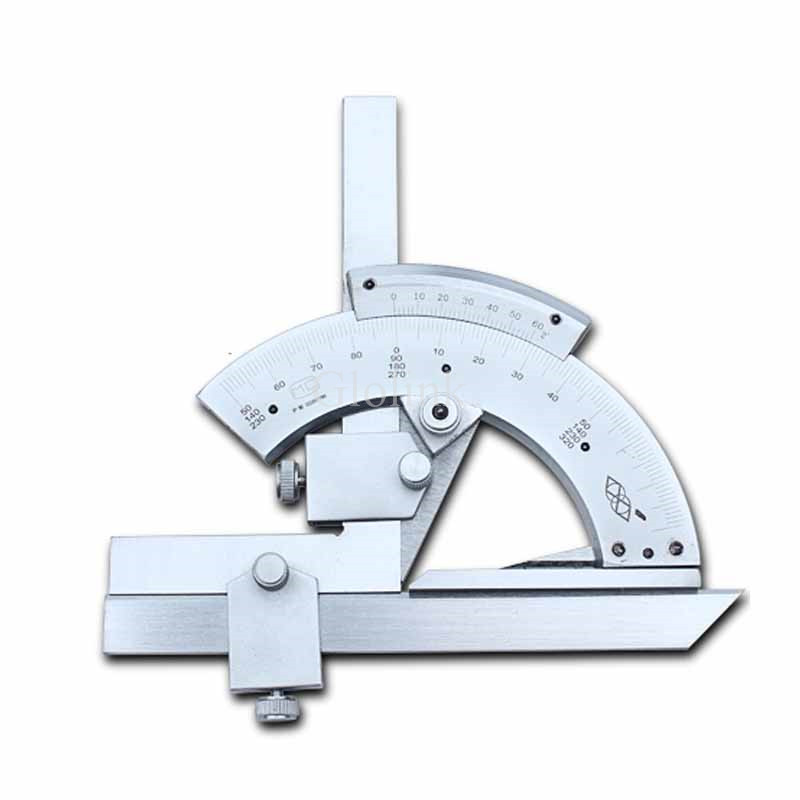 New Arrival 0-320 Degree Precision Angle Measuring Finder Universal Bevel Protractor Measurement Tool magic home закладка для книг корона принц