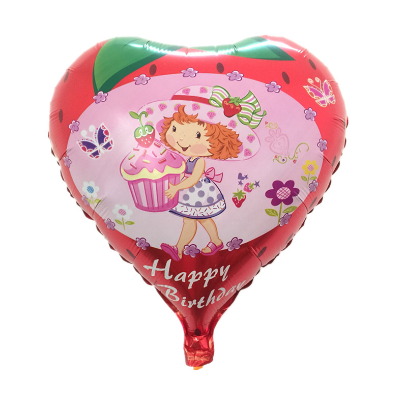 Free Shipping New Foil aluminum balloons Happy birthday balloons wholesale child