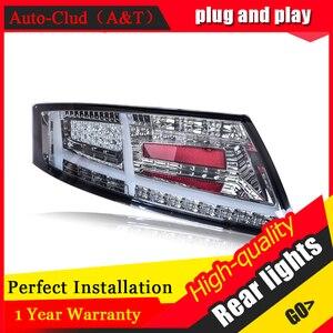 Image 4 - Yeni LED arka lambaları meclisi Audi TT 2006 2013 için LED arka lamba fren ters arka arka lamba DRL araba park lambaları