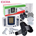 ELERA Health Care Electrical Stimulator Full Body Relax Massager Pulse Acupuncture Therapy Slipper with 4 Electrode Pads