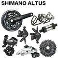 Shimano ALTUS M310 шатун 170 мм 42/22 т с BB-UN26 MTB велосипед 3X8 скорость cassete 11-32T Группа набор Аксессуары для велосипеда