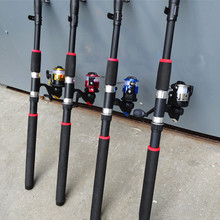 2.1M-3.6M New Sea Fishing Rod Telescopic Fiberglass Fishing Rod Seaside River Stream Outside Moveable Fishing Sort out Winter A002