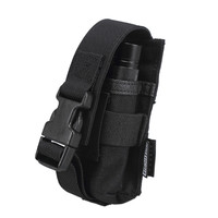 OneTigris MOLLE Flashlight Holster Belt Case Tactical Fight Light LED Torch Multi Tool Pouch 1000D Nylon