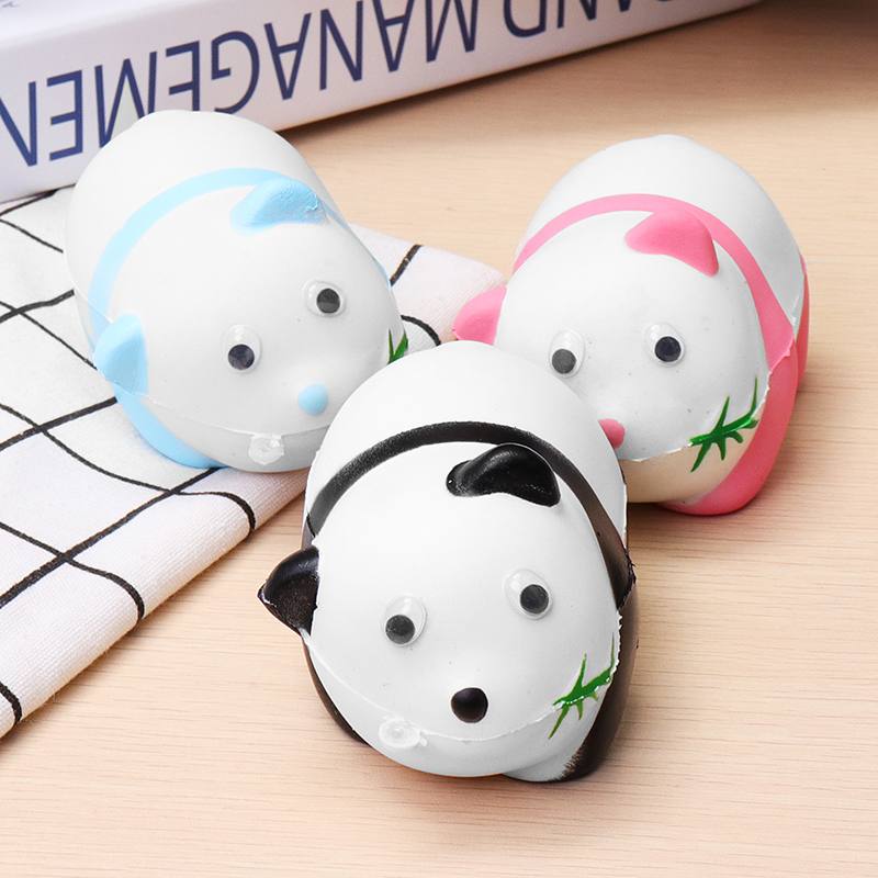 Panda Scented Charm Slow Rising 9.6cm Simulation Rising Toys Kids Gift Relief Stress Lovely Chidren Toy