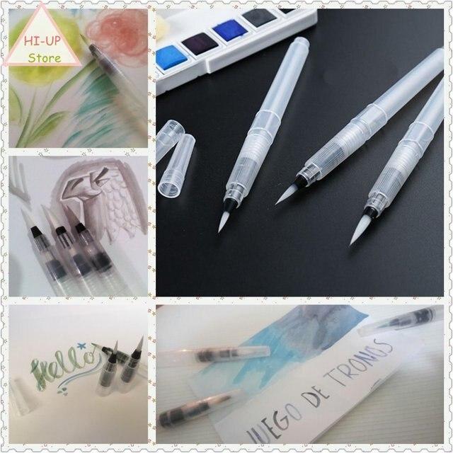 3 Pcs Set Cat Air Brush Kaligrafi Menulis Penanda Seni Tradisional