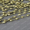 Free Shipping Wholesale DIY Antique Bronze Vintage Copper Necklace Bracelete Making Rose Link Chain Handmade Accessories
