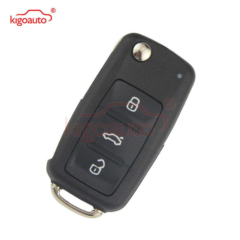 5K0837202AD дистанционный ключ 3 кнопки HU66 434 МГц 5K0 837 202 AD для 2012 VW Passat Polo Гольф Джетта Жук Tiguan kigoauto