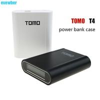 2 teile/los Großhandelspreis TOMO T4 Ursprünglich 18650 Liion Akku-ladegerät 4 stück Batterien Slots lade 3,7 V lithion batery ladung
