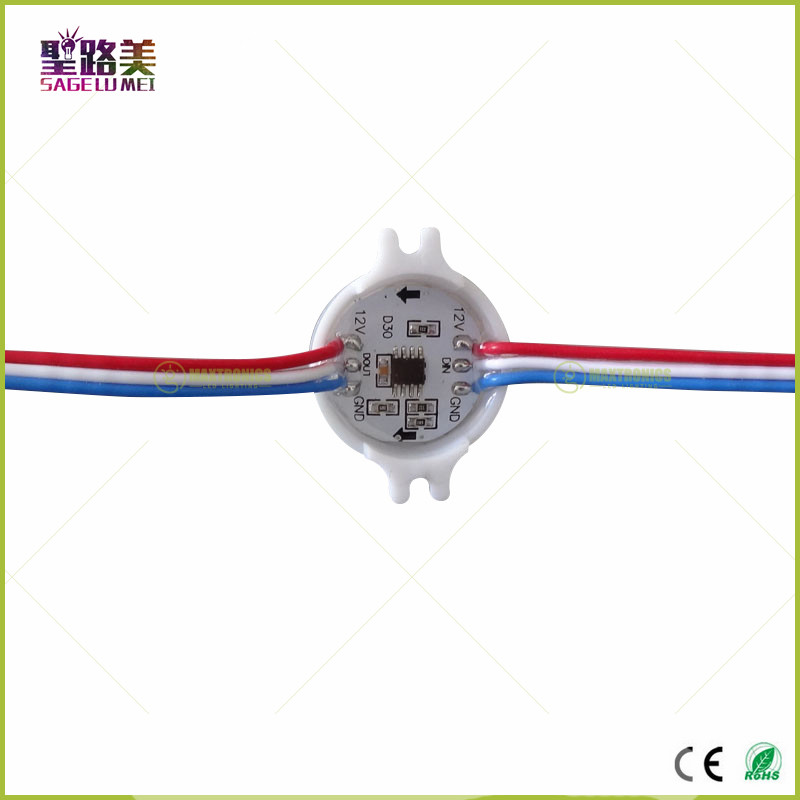 20pcs-Lot-DC12V-WS2811-30mm-Diffused-LED-Pixel-Module-Full-Color-3-LEDs-5050-3RGB-led