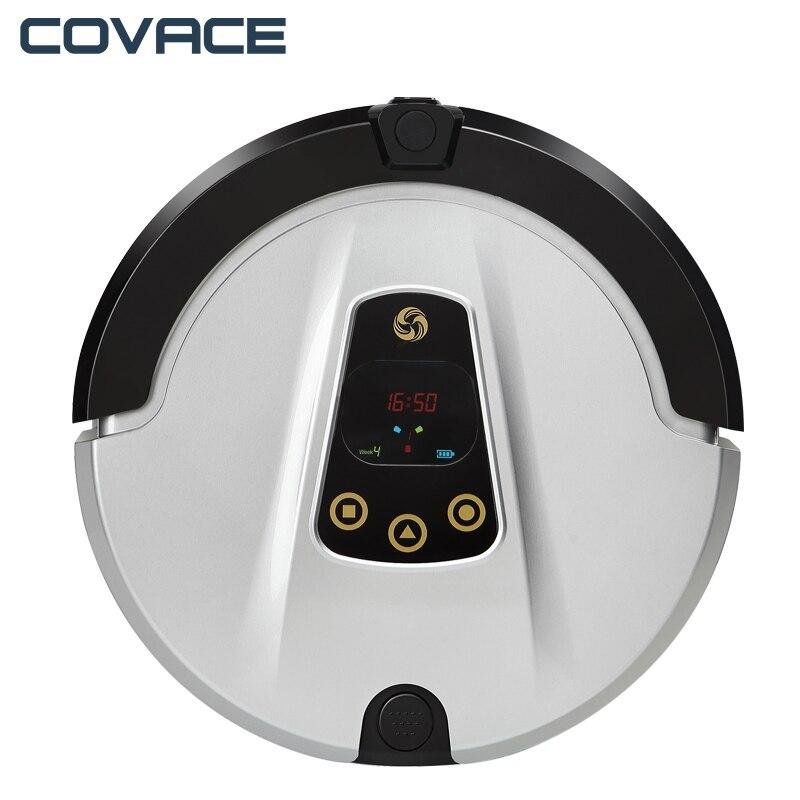 COVACE FR-T appareil photo Robot aspirateur sans fil nettoyeur Robot de lavage wifi itinéraire prévu