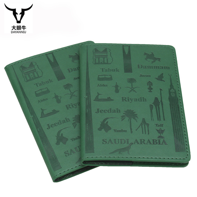 Saudi arabia travel passport holder protector wallet business card saudi arabia travel passport holder protector wallet business card holder soft passport cover pu leather colourmoves