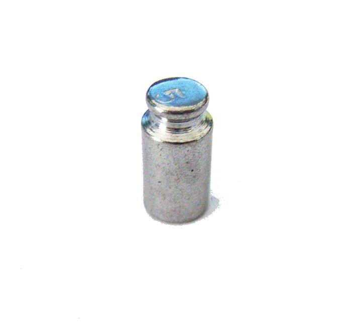 F01781 vente en gros flambant neuf 5g 5 grammes poids d'étalonnage pour calibrer la balance de poche numérique 100g/200g/1000g etc. +