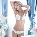 TIC-TEC women sexy bra Halter wedding invisible underwear Seamless Bra push up Multifunction solid color bra C3016