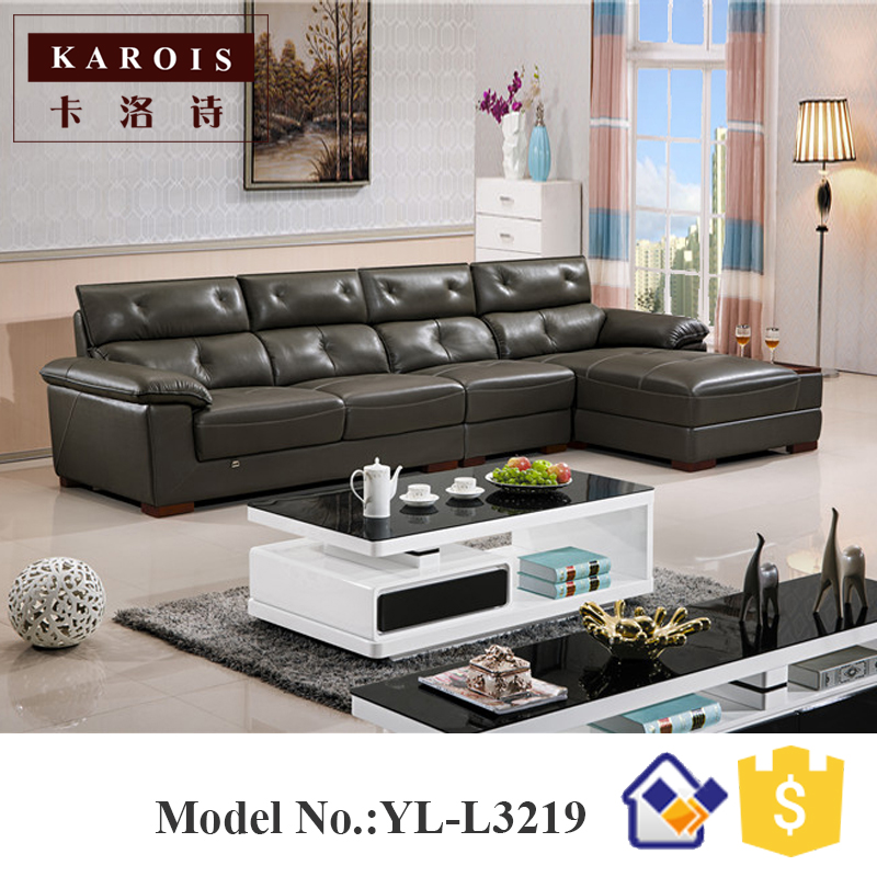 US $860.0 |Turkey furniture classic living room l shape sofa cama  cover,sofa para sala,leather corner sofas-in Living Room Sofas from  Furniture on ...