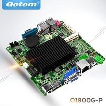 QOTOM מפרץ שביל j1900 מיני itx האם Q1900G P, Quad core 2.42Ghz, DC 12V nano itx האם