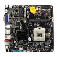 Computer Accessories SATA M.2 SSD POS Mini Motherboard HM55 Chipset HTPC Fast Office Advertising Machine Wide Use For I3 PGA988