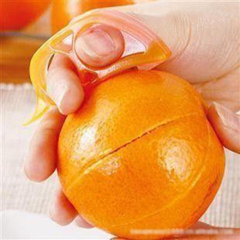 Envío Libre Del Ratón Forma Limón Citrus Naranja Peeler Del Abrelatas Del Remove