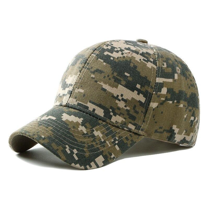 2018 Spring Summer Mens Army Camouflage Camo Cap Cadet Casquette Desert Camo Hat Baseball Cap Hunting Fishing Blank Desert Hat