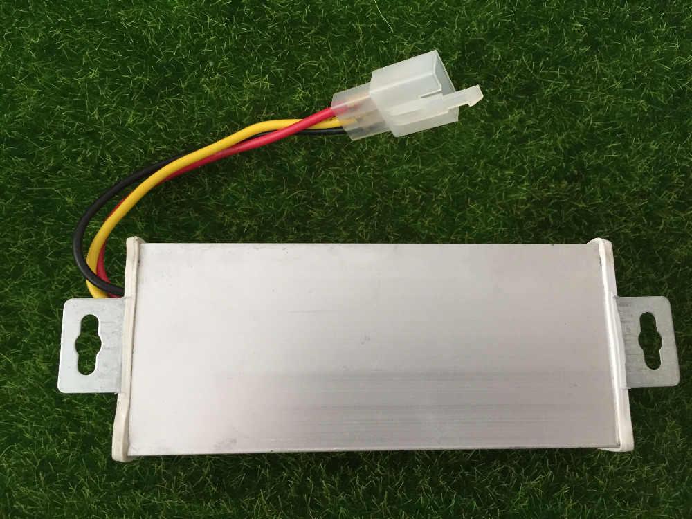 24 В/36 В/48 В/60 В/80 В/96 В/108 В до 12 В 20A DC адаптер конвертер для электрических автомобилей Батарея Бесплатная доставка