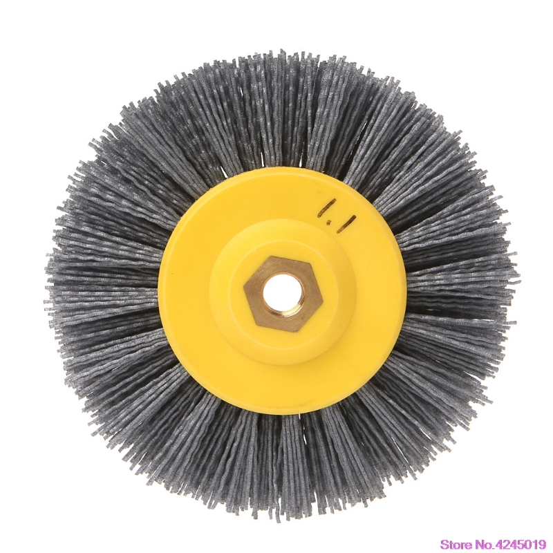 цена на New 150x40mmxM14 Deburring Abrasive Steel Wire Brush Head Polishing Grinding Wheel