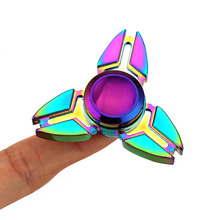 Aluminium Alloy EDC Fidget Spinner UFO Hand Spinner Fidget Toys Anxiety Stress Release for Adults Kid FJ88