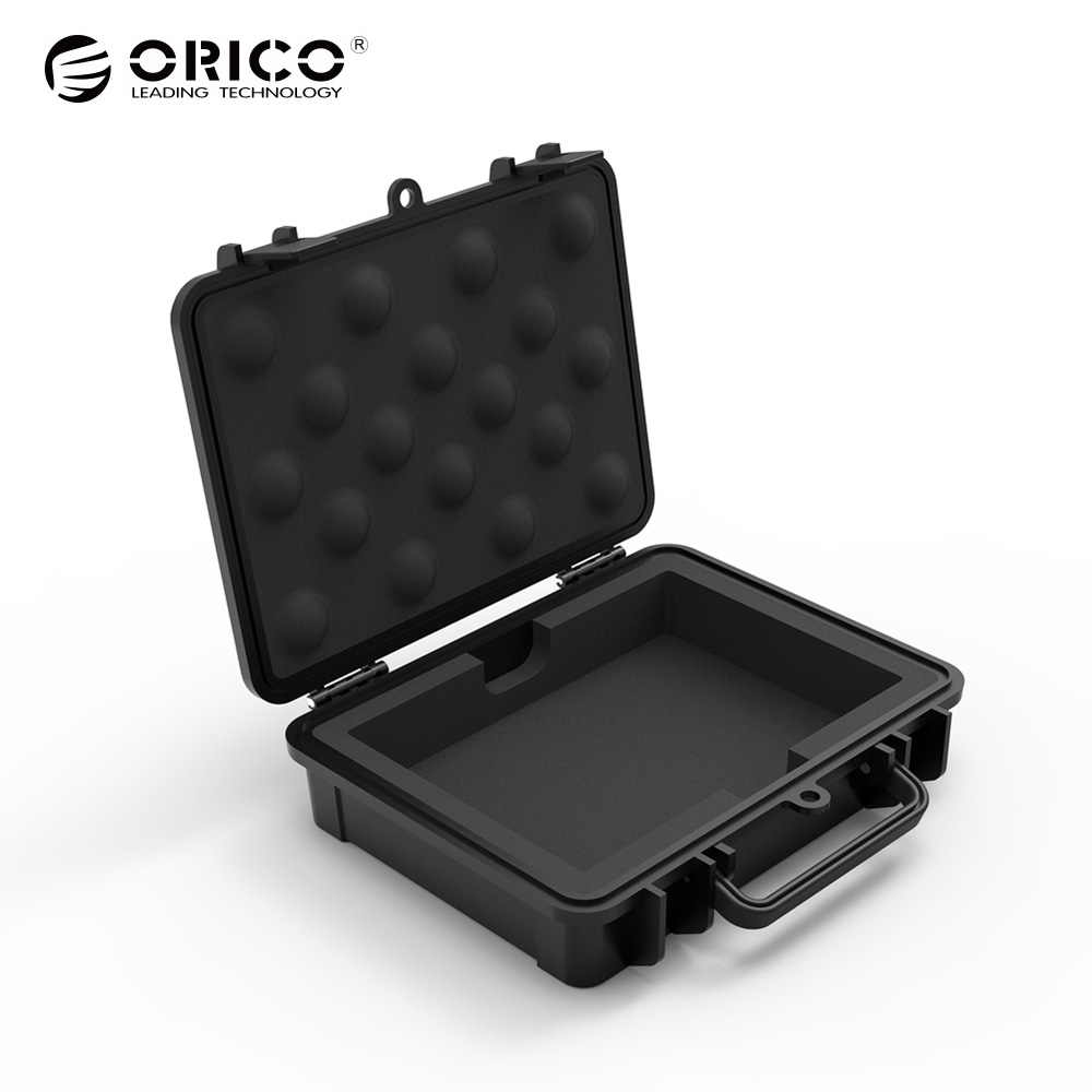 ORICO 3.5 Inch HDD Protection Box with Water-proof + Shock-proof + Dust-proof Function Safety Lock and Snap Design ...