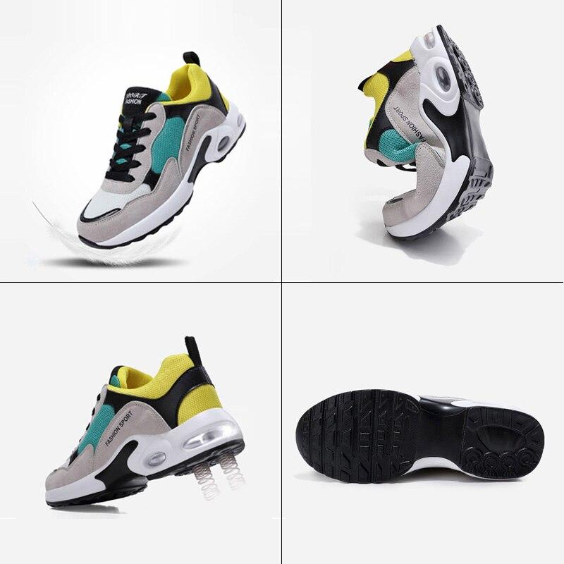Respirant Air Mesh Femmes Chaussures de Sport 2018 Printemps Femmes Sneakers Chaussures De Mode Lacent Plats En Plein Air Chaussures Dames tenis feminino - 3