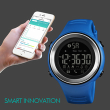 SKMEI Bluetooth Smart Watch Outdoor Pedometer Running Calorie Message Call Remind Smartwatch Waterproof Digital Sport Watch Men waterproof solar led string colorful holiday light fairy light with 30 leds ball solar lamp for christmas wedding festival party