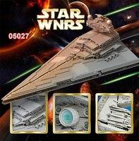 В наличии 05027 3250 шт император бойцы Звездный Корабль Модель Строительный Блок Совместимые части игрушек с Legoings Звездные войны 10030