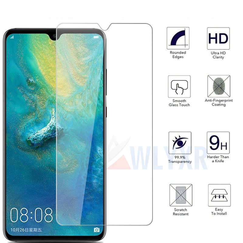 Glass Tempered For Huawei Mate 20 X P20 30 Honor 10 Lite Screen Protector Transparent Protective Glass For Y6 7 Y9 P Smart 2019