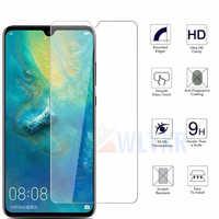 Vidro Temperado Para Huawei Companheiro 20 X P20 30 Honra 10 Lite Protetor de Tela de Vidro De Proteção Transparente Para Y6 7 y9 P Inteligente 2019