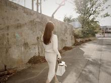 جديد موسم الخريف والشتاء بدلة حياكة صوفية أنيقة