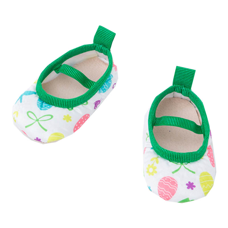 Unisex Baby Girls Boy 0-18Months Toddlers Soft Sole Shoes Lace-Up Cotton Crib Green Shoes First Walkers
