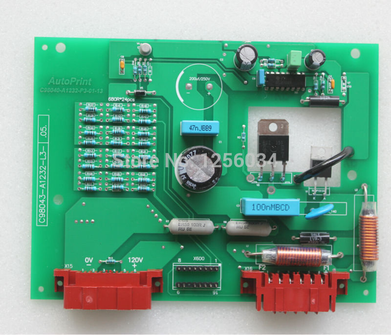 1 piece heidelberg printing card for heidelberg MO machine, heidelberg SM74 card, offset printing excitation board C98043-A1232 1 piece motor g2 144 1141 for sm74 xl75 heidelberg machine g2 144 1141 a