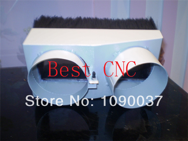 125mm Vacuum Cleaner Engraving machine Dust Cover for CNC Router and spindle motor dust cover for cnc machine dust proof height 200mm