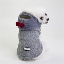 Симпатичное пальто для собак зимняя куртка домашних животных