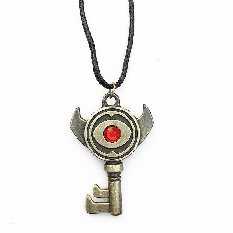 Zelda Ocarina of Time Key Keychain necklace zinc Alloy Pendants Cosplay gift