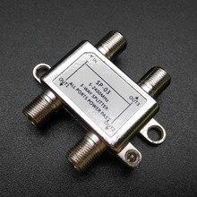 5-2400 MHz 3-way splitter/divisores de potencia de alta frecuencia de la señal de satélite Receptor de TV Por Satélite Para SATV/CATV diseño