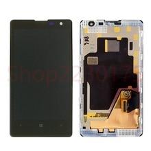 Для Nokia Lumia 1020 RM-875 ЖК дисплей сенсорный экран планшета Ассамблеи рамки Запчасти для авто