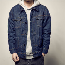 Big Size Men Denim Jackets Vintage Multi-Pockets Cotton Coats And Jackets Autumn Spring Jeans Coats Jaqueta Masculina A3308