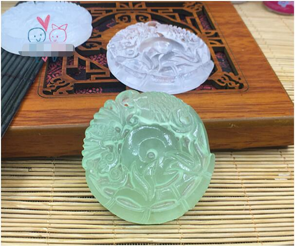 1 Piece Transpa Diy Silicon Round Bat Bamboo Mold Mould Jewelry Making Tools Epoxy Resin Molds For In Equipments From