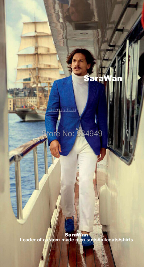 Online Buy Wholesale blue white tuxedo from China blue white ...