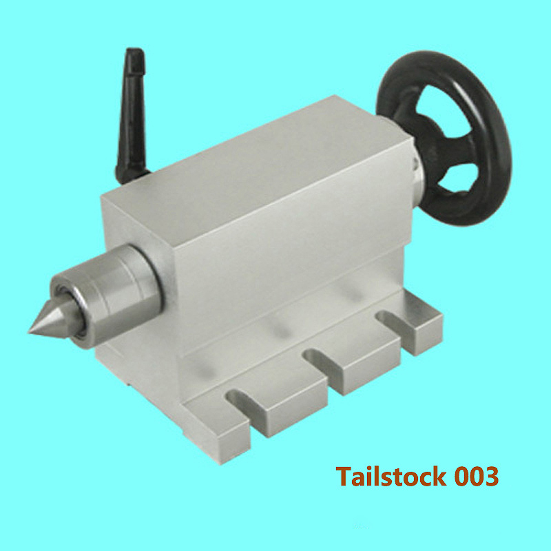 CNC Tailstock for Rotary Axis, A Axis, 4th Axis for CNC Router Engraver Milling Machine cnc 5 axis a aixs rotary axis three jaw chuck type for cnc router