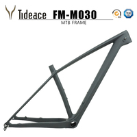 Updated Tideace 2019 Chinese mtb frame 29er 142mm/148mm boost mountain bike frame 29 bicycle frame carbon max 2.35 tires