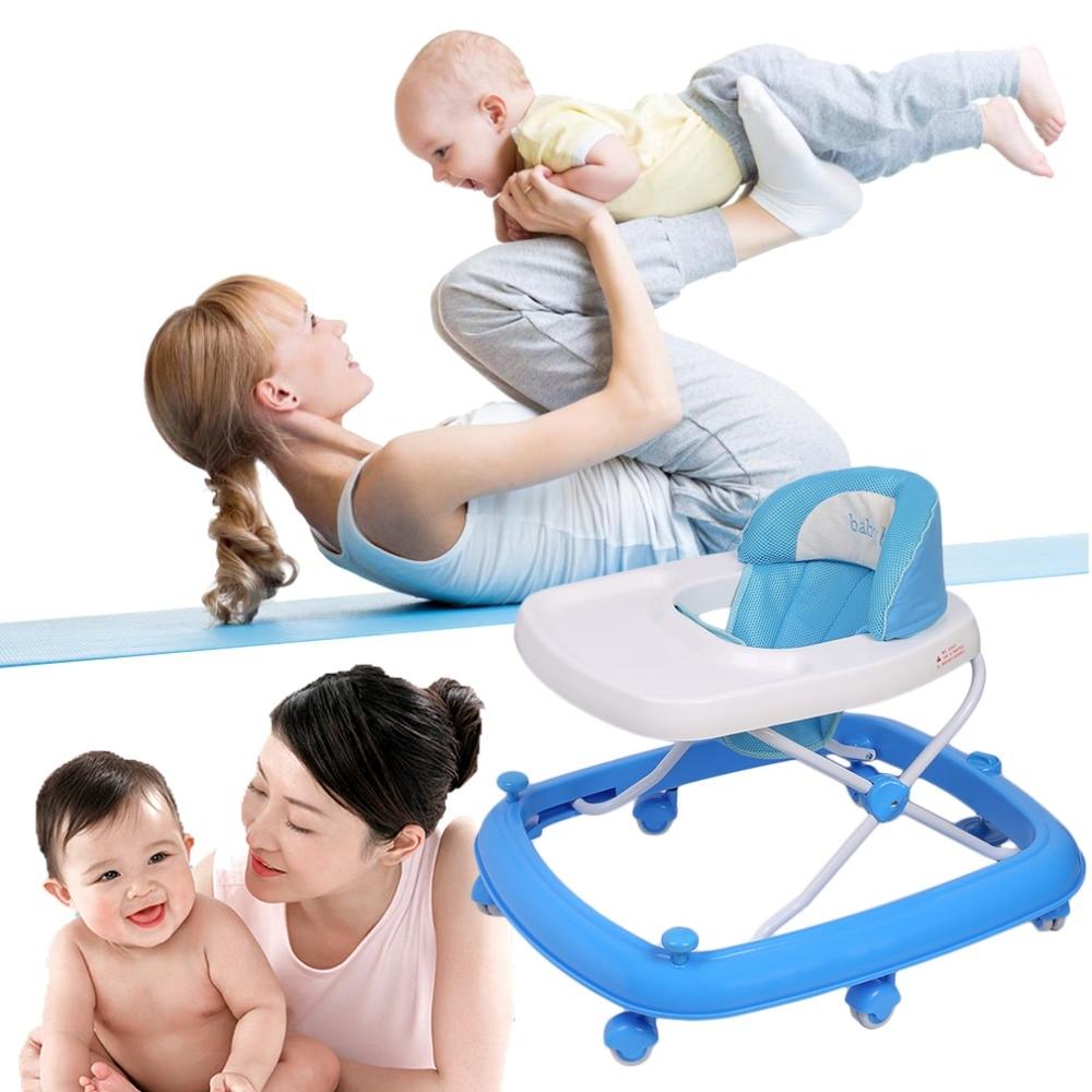 Multifonctionnel nouveau-né bébé marcheur voiture enfants apprentissage marche aide enfants activité marcheur avec roue Anti-retournement